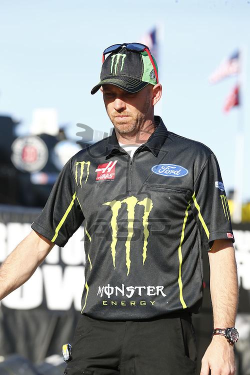 February 17, 2017 - Daytona Beach, Florida, USA: The Monster Energy NASCAR Cup Series teams take to the track for the Advance Auto Parts Clash at Daytona at Daytona International Speedway in Daytona Beach, Florida.