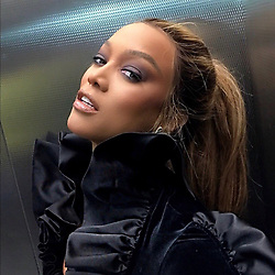 """Tyra Banks releases a photo on Twitter with the following caption: """"""""Where do you think I snapped this pic?"""""""". Photo Credit: Twitter *** No USA Distribution *** For Editorial Use Only *** Not to be Published in Books or Photo Books ***  Please note: Fees charged by the agency are for the agency's services only, and do not, nor are they intended to, convey to the user any ownership of Copyright or License in the material. The agency does not claim any ownership including but not limited to Copyright or License in the attached material. By publishing this material you expressly agree to indemnify and to hold the agency and its directors, shareholders and employees harmless from any loss, claims, damages, demands, expenses (including legal fees), or any causes of action or allegation against the agency arising out of or connected in any way with publication of the material."""