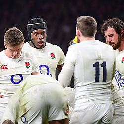 Maro Itoje of England during the RBS Six Nations match between England and France at Twickenham Stadium on February 4, 2017 in London, United Kingdom. (Photo by Dave Winter/Icon Sport)