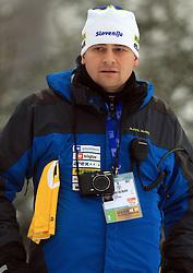Tomaz Sustersic at Men 20 km Individual at E.ON Ruhrgas IBU World Cup Biathlon in Hochfilzen (replacement Pokljuka), on December 18, 2008, in Hochfilzen, Austria. (Photo by Vid Ponikvar / Sportida)