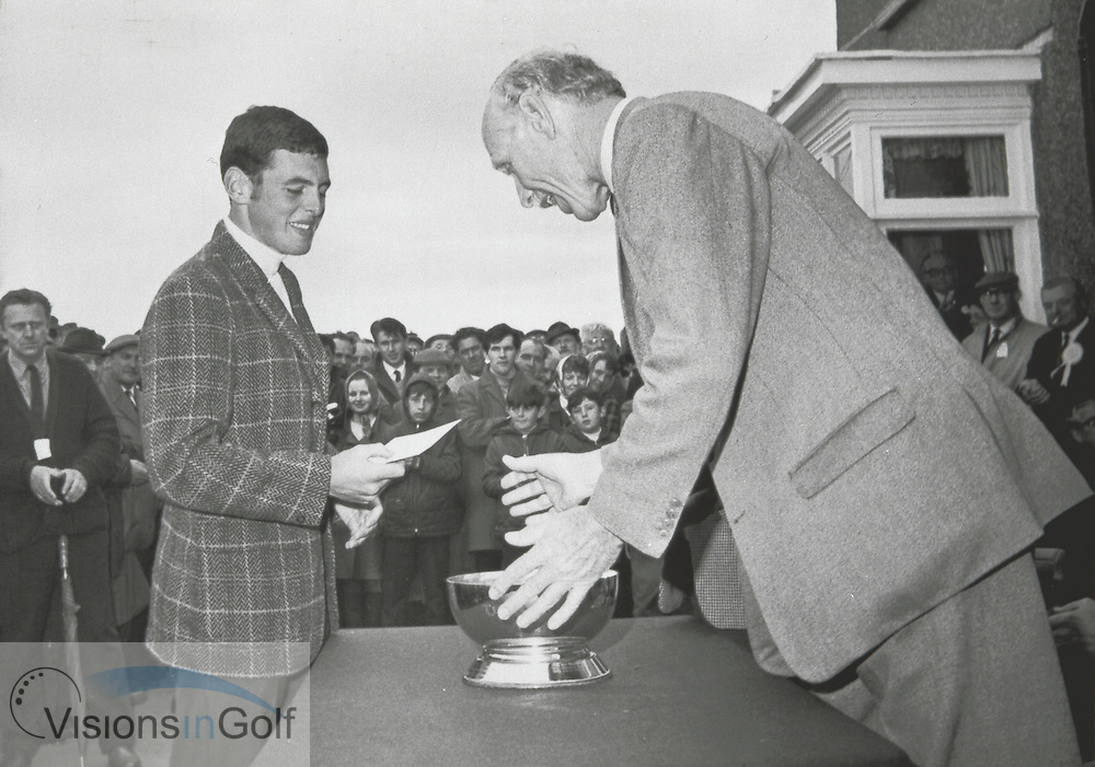 Bernard Gallacher 1969<br /> <br /> Picture Credit: &copy;Visions In Golf