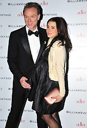 © Licensed to London News Pictures. 10/02/2012. London, England. Gary Kemp and Wife Lauren  attend a private dinner ahead of sundays Bafta awards hosted by William Banks-Blaney of WilliamVintage and actress Gillian Anderson at St Pancras Renaissance Hotel London  Photo credit : ALAN ROXBOROUGH/LNP
