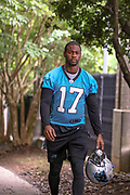 Carolina Panthers wide receiver Terry Godwin during minicamp at Bank of America Stadium, Thursday, June 13, 2019, in Charlotte, NC. (Brian Villanueva/Image of Sport)