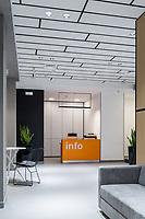 Фотосъемка интерьера в клинике R+. Дизайн интерьера: студия SED ARTE.