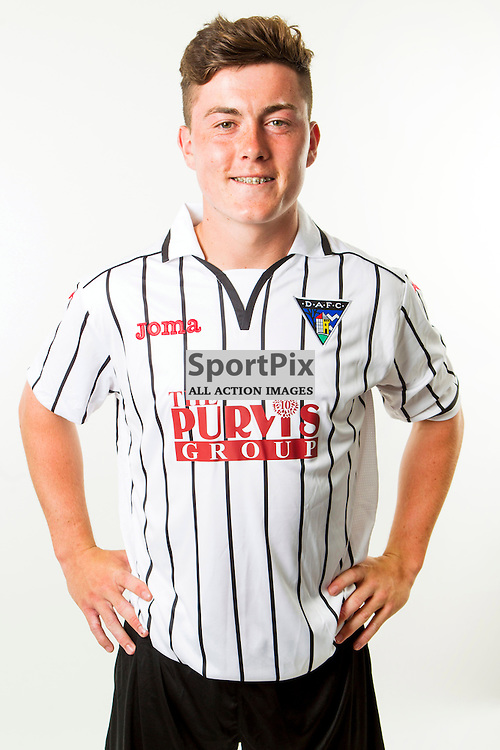 DAFC Photocall East End Park 11 July 2014<br /> Finn Graham<br /> (c) CRAIG BROWN | SportPix.org.uk