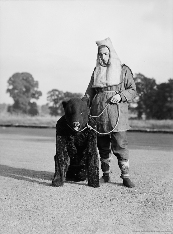 Bear Leader, Lacock Abbey Pageant, Wiltshire, England, 1932