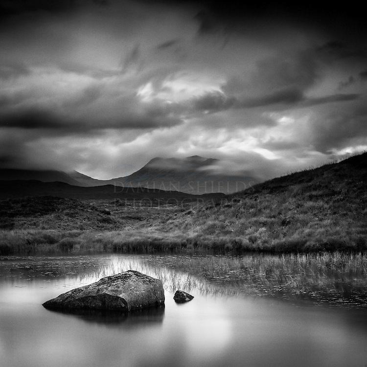 Rannoch moor, Highlands, Scotland