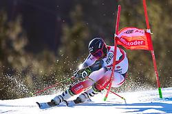 02.03.2020, Hannes Trinkl Weltcupstrecke, Hinterstoder, AUT, FIS Weltcup Ski Alpin, Riesenslalom, Herren, 1. Lauf, im Bild Mathieu Faivre (FRA) // Mathieu Faivre of France in action during 1st run of men's Giant Slalom of FIS ski alpine world cup at the Hannes Trinkl Weltcupstrecke in Hinterstoder, Austria on 2020/03/02. EXPA Pictures © 2020, PhotoCredit: EXPA/ Johann Groder