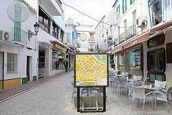 10.01.2012, Marbella, Spanien, ESP, Marbella im Focus, im Bild Karte der Altstadt vom Marbella, Andalusien, Spanien. EXPA Pictures © 2012, PhotoCredit: EXPA/ Eibner/ Andre Latendorf..***** ATTENTION - OUT OF GER *****
