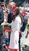 01.07.11 <br /> The Duke and Duchess of Cambridge  at the Canada Day celebrations in Ottawa on the first leg of the royal tour , Ottawa Canada  <br /> ©Exclusivepix