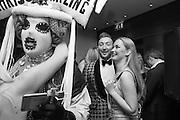 SUZI MUTON;; MARK WHITTLE; ALEKSANDRA JWSK, London Bar & Club Awards, Intercontinental Hotel. Park Lane. London, 6 June 2016