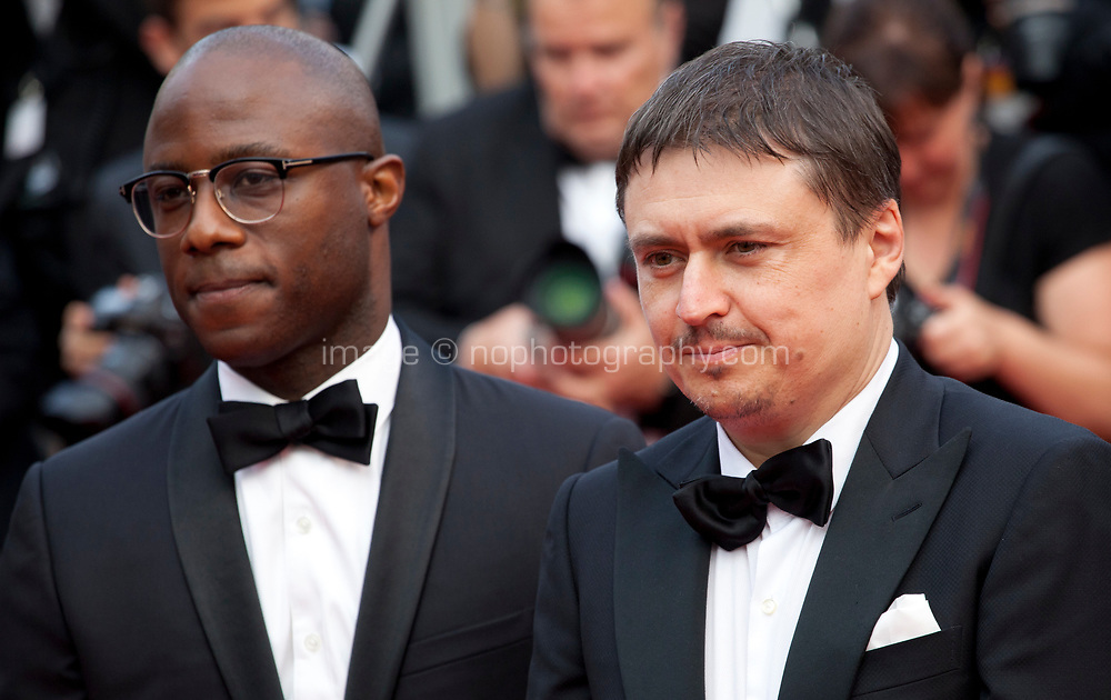 Barry Jenkins and Cristian Mungiu  at Twin Peaks gala screening at the 70th Cannes Film Festival Thursday 25th May 2017, Cannes, France. Photo credit: Doreen Kennedy