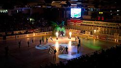 John Hughes (HDD Tilia Olimpija, #72) during ice-hockey match between HDD Tilia Olimpija and EHC Liwest Black Wings Linz at fourth match in Semifinal  of EBEL league, on March 13, 2012 at Hala Tivoli, Ljubljana, Slovenia. (Photo By Matic Klansek Velej / Sportida)