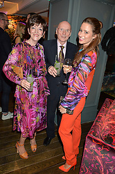 DAVID & MAUREEN WILLIAMSON parents of Matthew Williamson and KELLY EASTWOOD at the Duresta For Matthew Williamson Exclusive Launch At Harrods, Knightsbridge, London on 10th March 2016.