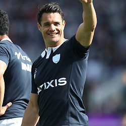 Dan Carter of Racing 92 during the Top 14 match between Stade Toulousain and Racing 92 on April 16, 2017 in Toulouse, France. (Photo by Manuel Blondeau/Icon Sport)