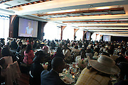 April 7, 2012 New York, NY:  Audience at the 62nd Annual Women of Distinction Spirit Awards Luncheon & Fashion Show sponsored by The Links, Inc- Greater New York Chapter held at Pier Sixty at Chelsea Piers on April 7, 2012 in New York City...Established in 1946, The Links,  incorporated, is one of the nation's oldest and largest volunteer service of women, linked in friendship, are committed to enriching, sustaining and ensuring the culture and economic survival of African-American and persons of African descent . The Links Incorporated is a not-for-profit organization, which consists of nearly 12, 000 professional women of color in 272 located in 42 states, the District of Columbia and the Bahamas. (Photo by Terrence Jennings)