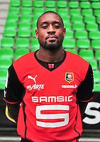 Jean Armel KANA BIYIK - 19.09.2013 - Photo officielle - Rennes - Ligue 1<br /> Photo : Philippe Le Brech / Icon Sport