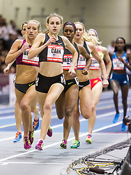 New Balance Indoor Grand Prix Track & FIeld:  women's 1000 meters Mary Cain
