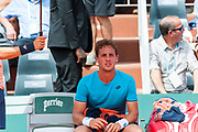 Roberto Carballes baena (esp) during the Roland Garros French Tennis Open 2018, day 2, on May 28, 2018, at the Roland Garros Stadium in Paris, France - Photo Pierre Charlier / ProSportsImages / DPPI