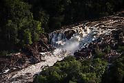 Amatuk Falls<br /> Potaro River<br /> Pakaraima mountains<br /> GUYANA<br /> South America