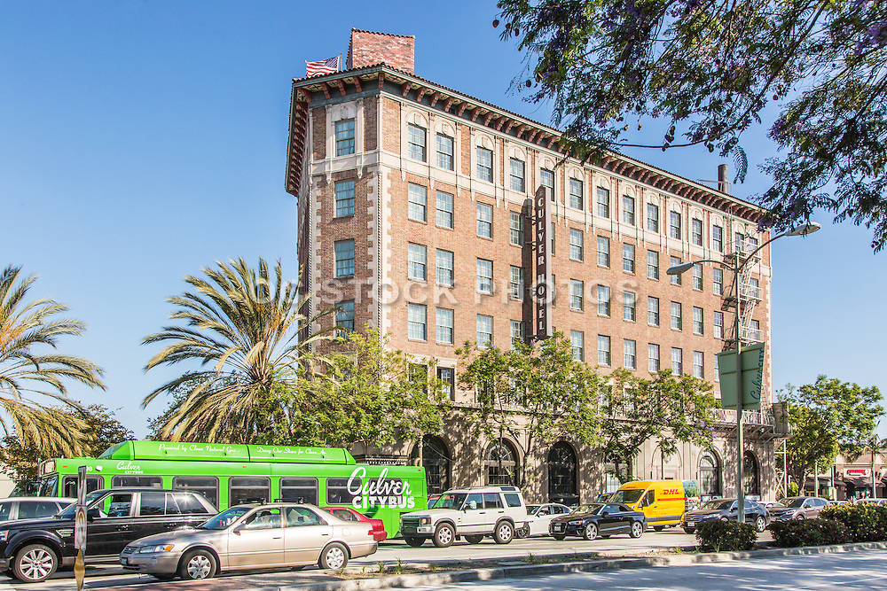 The Historic Culver Hotel in Downtown Culver City