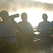 Fog is just one of the hazards rowers face.