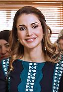 Queen Rania Visits Al Zarqa