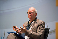 DEU, Deutschland, Germany, Berlin, 17.10.2017: Der Historiker Prof. Dr. Martin Sabrow bei einer Veranstaltung der Friedrich Ebert Stiftung.