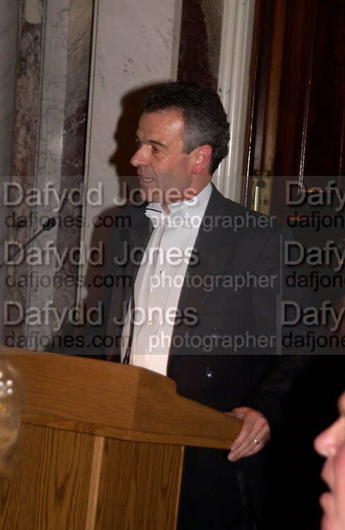 David Alexander, Ball at Blenheim Palace in aid of the Red Cross, Woodstock, 26 June 2004. SUPPLIED FOR ONE-TIME USE ONLY-DO NOT ARCHIVE. © Copyright Photograph by Dafydd Jones 66 Stockwell Park Rd. London SW9 0DA Tel 020 7733 0108 www.dafjones.com