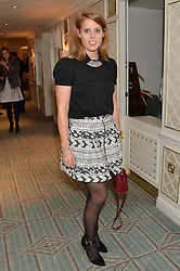 PRINCESS BEATRICE OF YORK at the launch of Mrs Alice in Her Palace - a fashion retail website, held at Fortnum & Mason, Piccadilly, London on 27th March 2014.