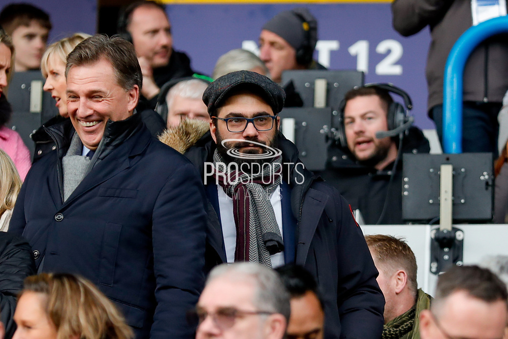 Victor Orta, Director of Football during the EFL Sky Bet Championship match between Huddersfield Town and Leeds United at the John Smiths Stadium, Huddersfield, England on 7 December 2019.