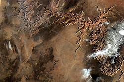 May 30, 2017 - Space - In April the student-controlled EarthKAM camera aboard the International Space Station captured this photograph of a favorite target, the Grand Canyon, from low Earth orbit. The camera has been aboard the orbiting outpost since the first space station expedition began in November 2000 and supports approximately four missions annually. Mission 58 begins in fall 2017, and interested middle school students and teachers can sign up at the EarthKAM website. (Credit Image: © Sally Ride EarthKAM/NASA via ZUMA Wire/ZUMAPRESS.com)
