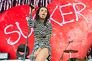 Charli XcX plays the Wireless festival, Finsbury Park, London, UK