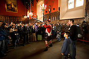 Great Hall, Edinburgh Castle, Edinburgh Scotland, UK