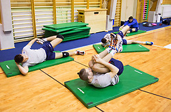 Danijel Koncilja during training camp of Slovenian Volleyball Men Team 1 month before FIVB Volleyball World League tournament in Ljubljana, on May 5, 2016 in Arena Vitranc, Kranjska Gora, Slovenia. Photo by Vid Ponikvar / Sportida