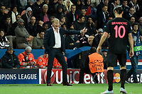 Norwegian head coach of Malmo FF Age Hareide during the UEFA Champions League Group A football match between Paris Saint Germain and Malmo FF on September 15, 2015 at Parc des Princes stadium in Paris, France. Photo Jean Marie Hervio / Regamedia / DPPI