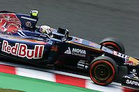 Daniil Kvyat (RUS) Scuderia Toro Rosso STR9.<br /> Japanese Grand Prix, Friday 3rd October 2014. Suzuka, Japan.