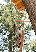 Gunstock Mountain Resort Treetop Adventure Rope Course Gilford, NH