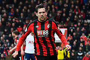 Charlie Daniels (11) of AFC Bournemouth during the Premier League match between Bournemouth and Tottenham Hotspur at the Vitality Stadium, Bournemouth, England on 11 March 2018. Picture by Graham Hunt.