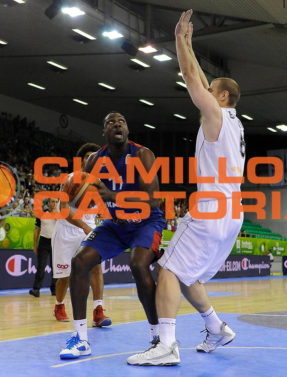 DESCRIZIONE : Lubiana Ljubliana Slovenia Eurobasket Men 2013 Preliminary Round Belgio Francia Belgium France<br /> GIOCATORE : Florent Pietrus<br /> CATEGORIA : palleggio dribble<br /> SQUADRA : Francia France<br /> EVENTO : Eurobasket Men 2013<br /> GARA : Belgio Francia Belgium France<br /> DATA : 09/09/2013 <br /> SPORT : Pallacanestro <br /> AUTORE : Agenzia Ciamillo-Castoria/H.Bellenger<br /> Galleria : Eurobasket Men 2013<br /> Fotonotizia : Lubiana Ljubliana Slovenia Eurobasket Men 2013 Preliminary Round Belgio Francia Belgium France<br /> Predefinita :