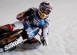 13.03.2016, Assen, BEL, FIM Eisspeedway Gladiators, Assen, im Bild Franz Zorn (AUT) //  during the Astana Expo FIM Ice Speedway Gladiators World Championship in Assen, Belgium on 2016/03/13. EXPA Pictures &copy; 2016, PhotoCredit: EXPA/ Eibner-Pressefoto/ Stiefel<br /> <br /> *****ATTENTION - OUT of GER*****