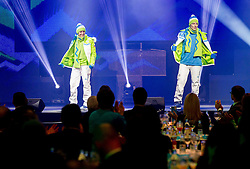 Maja Vtic and Ales Music during presentation of Team Slovenia for Sochi 2014 Winter Olympic Games on January 22, 2014 in Grand Hotel Union, Ljubljana, Slovenia. Photo by Vid Ponikvar / Sportida
