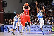 DESCRIZIONE : Campionato 2015/16 Serie A Beko Dinamo Banco di Sardegna Sassari - Grissin Bon Reggio Emilia<br /> GIOCATORE : Stefano Gentile<br /> CATEGORIA : Tiro Tre Punti Three Point Controcampo<br /> SQUADRA : Grissin Bon Reggio Emilia<br /> EVENTO : LegaBasket Serie A Beko 2015/2016<br /> GARA : Dinamo Banco di Sardegna Sassari - Grissin Bon Reggio Emilia<br /> DATA : 23/12/2015<br /> SPORT : Pallacanestro <br /> AUTORE : Agenzia Ciamillo-Castoria/C.Atzori