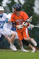 05 April 2008: Virginia Cavaliers attackman Ben Rubeor (6) during a 11-12 OT win over the North Carolina Tar Heels on Fetzer Field in Chapel Hill, NC.