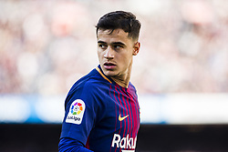 March 18, 2018 - Barcelona, Spain - BARCELONA, SPAIN - MARCH 18: 14 Phillip Couthino from Brasil of FC Barcelona during La Liga match between FC Barcelona v Atletic de Bilbao at Camp Nou Stadium in Barcelona on 18 of March, 2018. (Credit Image: © Xavier Bonilla/NurPhoto via ZUMA Press)