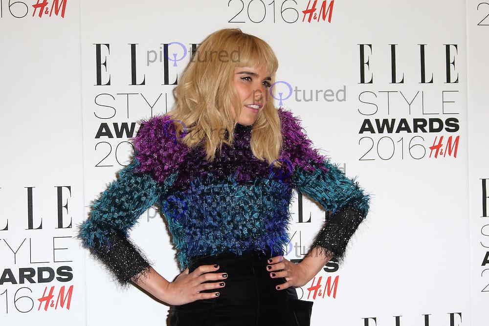 Paloma Faith, ELLE Style Awards 2016, Millbank London UK, 23 February 2016, Photo by Richard Goldschmidt