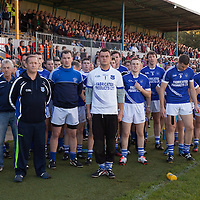 Cratloe Team stand for the national anthem before the start of the Senior Football Final