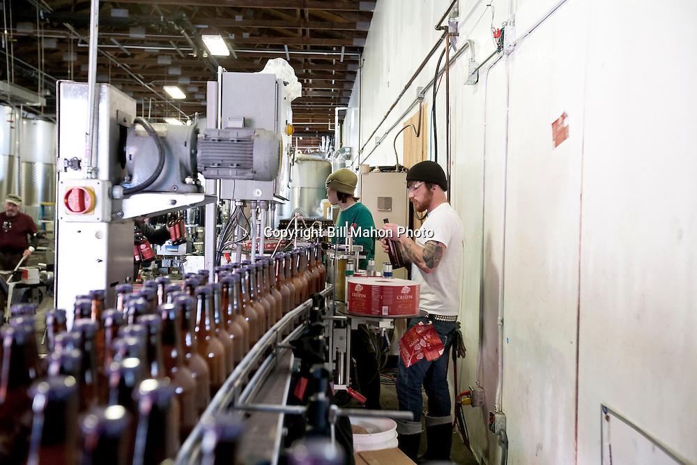 Crispin Cider, Colfax California Stock Photos