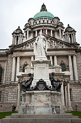 Belfast City Hall in Donegall Square, Belfast, Northern Ireland<br /> <br /> (c) Andrew Wilson | Edinburgh Elite media