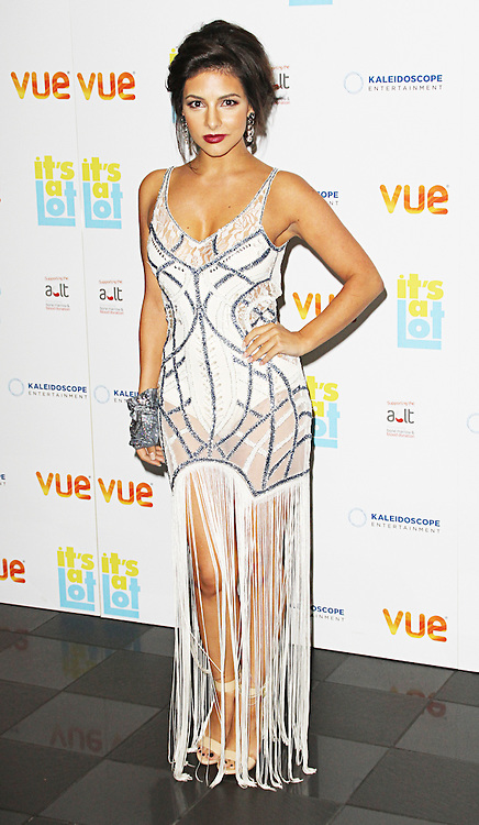Roxanne Pallett, It's A Lot - UK Premiere, VUE West End, London UK, 21 October 2013 (Photo by Brett D. Cove)
